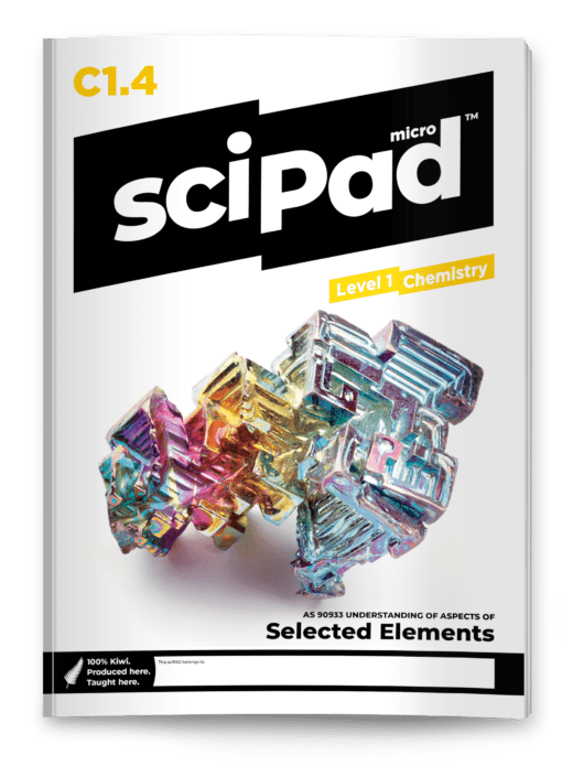sciPAD 1.4 Selected Elements