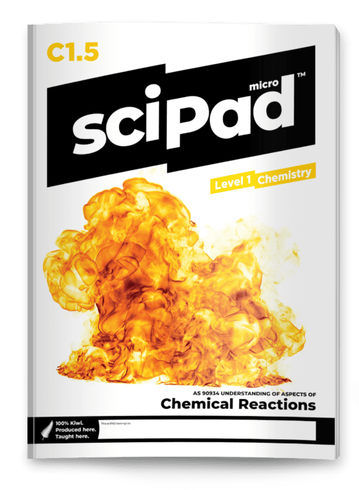 sciPAD 1.5 Chemical Reactions