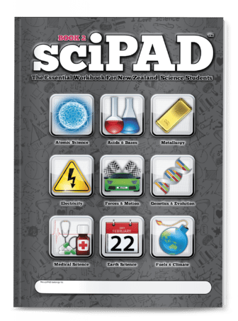 sciPAD Science Workbooks | Secondary School Science Study Guides NZ